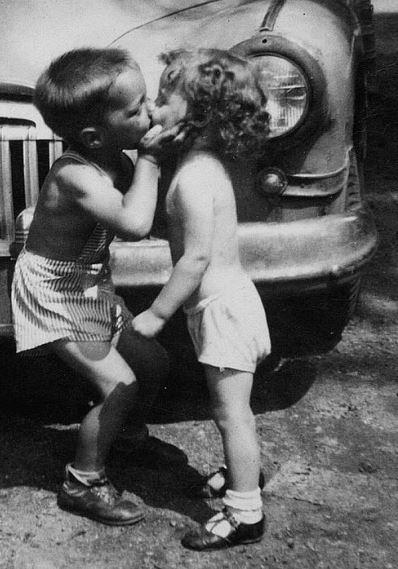 boy kiss