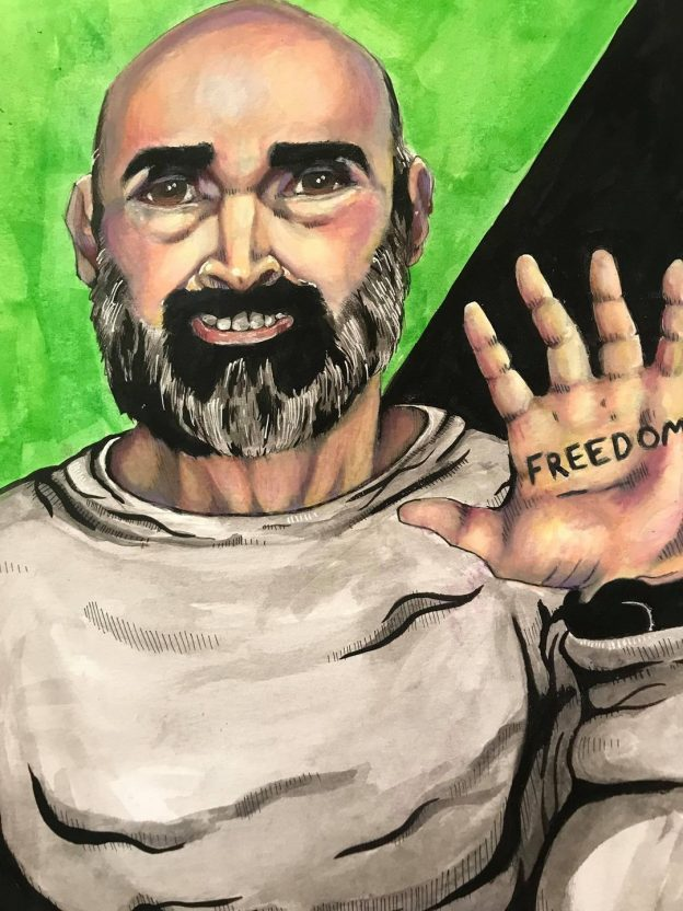 Painting of the Swain-Freedom pic